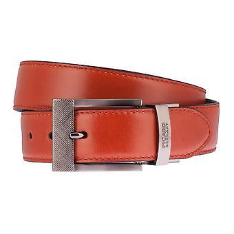 PICARD bælter mænds bælter læder bælte 2 i 1 orange/antracit 2533