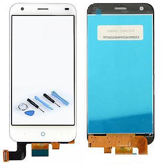 Display LCD Touchscreen Front Weiß für ZTE Blade S6 Plus