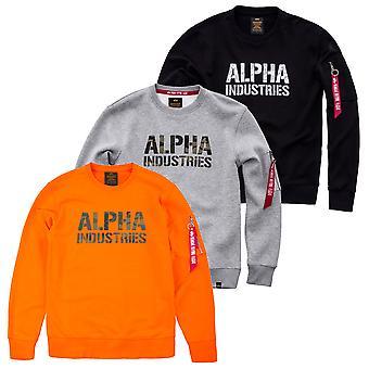Alpha industries Mäns tröja Camo print