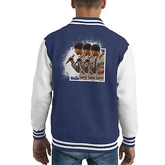 Craig David Renfrew Ferry Glasgow Ripple Effect 2003 Kid's Varsity Jacket