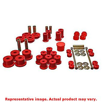 Energy Suspension Hyper-Flex System 4.18111R Red Fits:FORD 1967 - 1972 MUSTANG