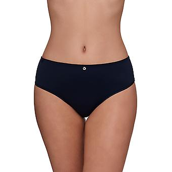Susa 663-329 Women's Catania Twilight Blue Solid Colour Knickers Panty Full Brief