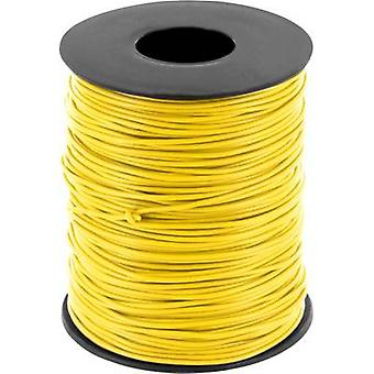 BELI-BECO D 105/100 Jumper wire 1 x 0.20 mm² Yellow 100 m