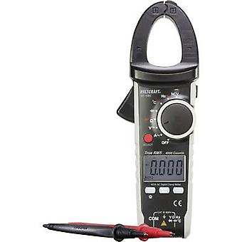 VOLTCRAFT VC585 Clamp meter Digital Calibrated to: Manufacturer's standards (no certificate) CAT III 600 V Display (cou