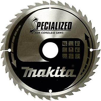 Carbide metal circular saw blade 165 x 20 x 1 mm Number of cogs: 24 Makita SPECIALIZED B-32910 1 pc(s)