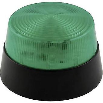 فلاش الخفيفة الصمام Velleman HAA40GN الأخضر 12 فولت تيار مستمر