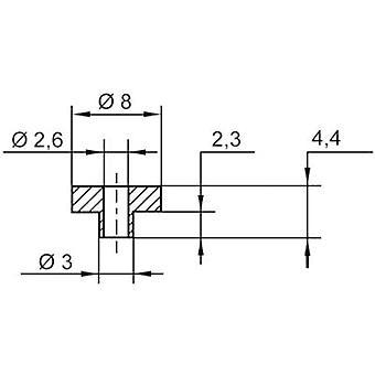 Insulating washer ASSMANN WSW V5817 Outside diameter 8 mm SR25