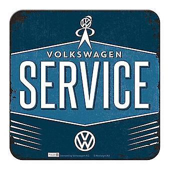 Volkswagen Service Getränke Matte / Coaster