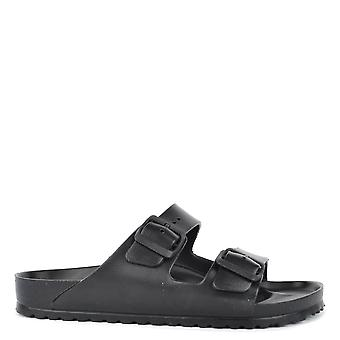 Birkenstock Mens' Arizona Black Eva Two Strap Sandal