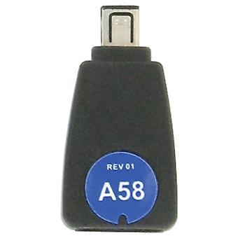 iGo A58 Power Tip for Jabra Bluetooth Headsets (Black) - TP00658-0009