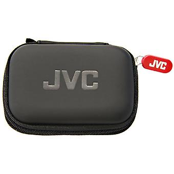 JVC HPCASE Compact Carry Case for Earphone - Black