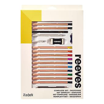 Reeves Complete Sketching Set