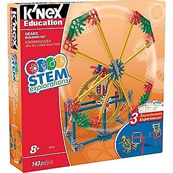 K ' Nex Ausbildung STEM ERKUNDUNGEN: Zahnräder Building Set Bausatz