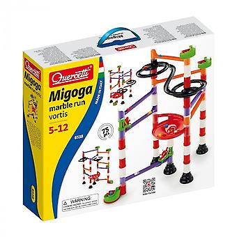 Quercetti Migoga Vortis 75 Piece Marble Run Ages 5-12 Years