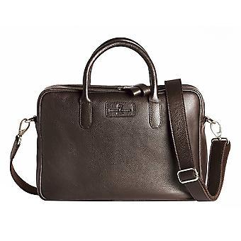Simon Carter Hove Laptop Bag - Brown