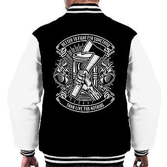 Leuk Cool stedelijke beter tegen inspirerende citaat mannen Varsity Jacket