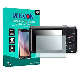 Casio Exilim EX-ZR710 Screen Protector - Mikvon Clear (Retail Package with accessories)