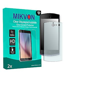 BLU Selfie Screen Protector - Mikvon Clear (Retail Package with accessories)