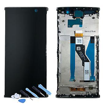 Sony дисплей LCD полный для Xperia XA2 плюс H3413 H4413 H4493 серебряная рамка запчасти новые 78PC5100020