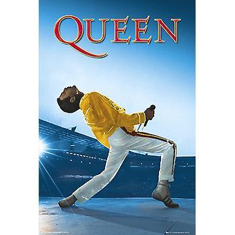 Queen Wembley Maxi Poster