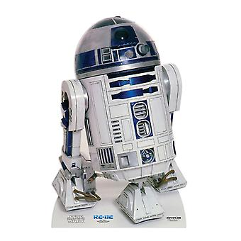 R2-D2 - Star Wars Lifesize papelão recorte / cartaz