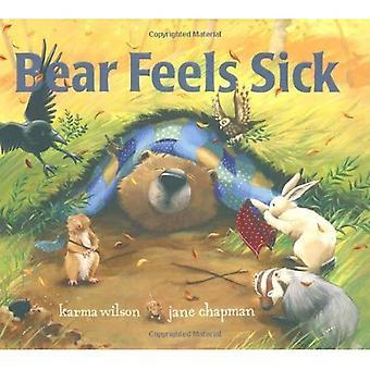Bear känner sig sjuk