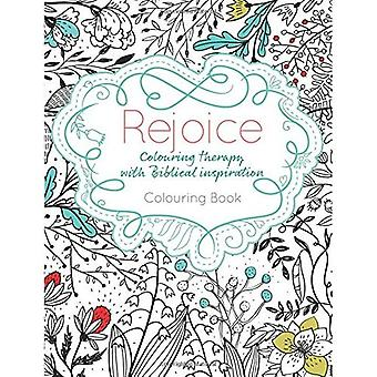 Rejoice: Colouring Therapy with Biblical Inspiration