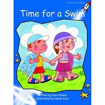 Time for a Swim: Level 3: Early (Red Rocket Readers: Fiction Set B)