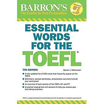 Viktigt ord för TOEFL, 7: e upplagan