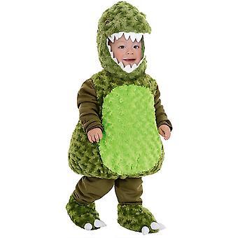 绿色恐龙幼儿服装