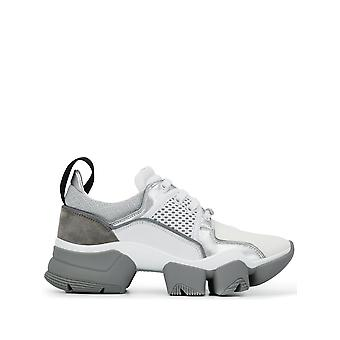 Givenchy White/grey Cotton Sneakers