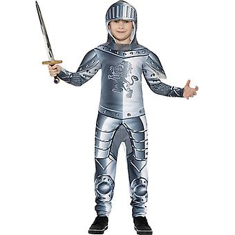 Knight child costume jumpsuit of medieval knight armor children