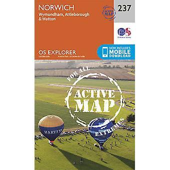 Norwich (September 2015 ed) by Ordnance Survey - 9780319471098 Book