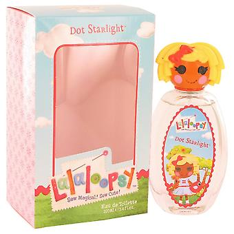 Lalaloopsy by Marmol & Son Eau De Toilette Spray (Dot Starlight) 3.4 oz / 100 ml (Women)