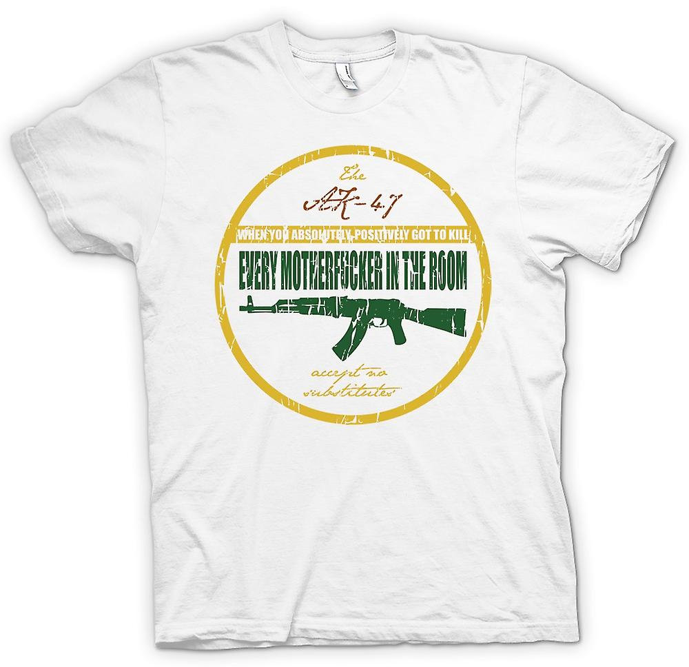 Womens T-shirt - The AK47 - When You Have To Kill - Jackie Brown
