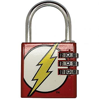 DC Comics Brass Padlock The Flash