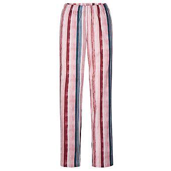 Rosch 1194541-16397 DamenKurve Mehrfarbig gestreifte Baumwolle Pyjama Hose