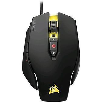 Corsair M65 Pro rgbfps gaming mus svart farge