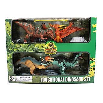 Extinct World Dinosaur Playset 4 Pack, Style C