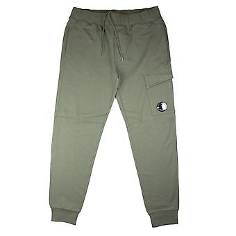 CP Company Khaki Watch Viewer Lens Tracksuit Bottoms