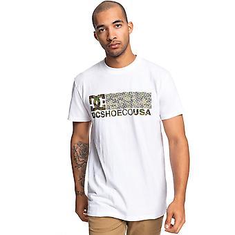 DC Trestna Short Sleeve T-Shirt in Snow White