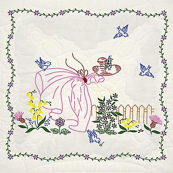 Estampillé Quilt Blocks 18 « X 18 » 6 Pkg Miss Daisy 95111