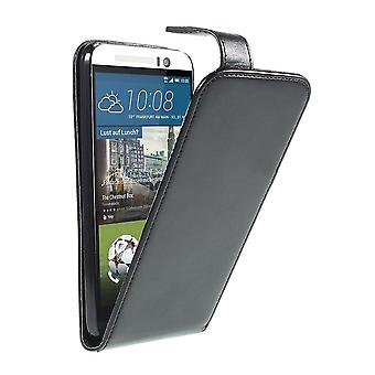 Skriv inn PU skinn forsiden for HTC en M9
