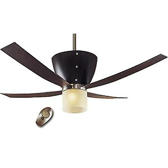 "Ceiling Fan Valhalla 132 cm / 52"" Coffee Beech"