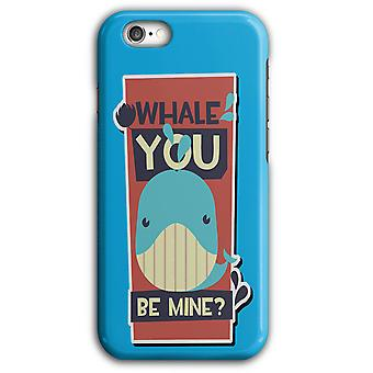 Whale du vara min Ocean Giant iPhone Case 5/5S 6/6S 6Plus/6SPlus | Wellcoda
