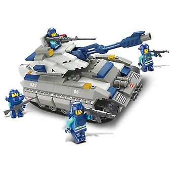 Sluban Police Mammoth Tank Parts 260 (Kids , Toys , Construction , Vehicles And Ships)