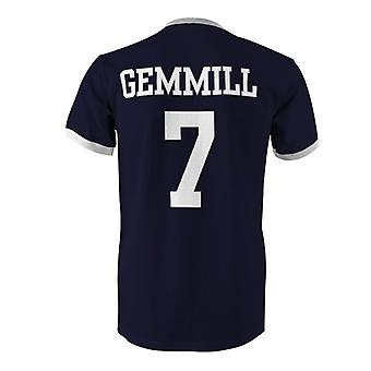 Archie Gemmill 7 Scotland Country Ringer T-Shirt