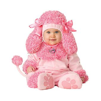 Precious Poodle Pink Dog Animal 1950s Baby Girls Infant Costume