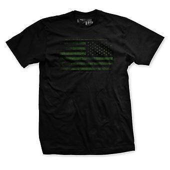 Ranger op bedste tider bekæmpe Flag T-Shirt-Black