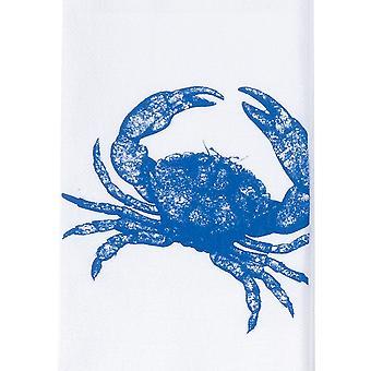سرطان البحر الأزرق دي كاي طباعة كيس الدقيق 27 بوصة المطبخ طبق منشفة